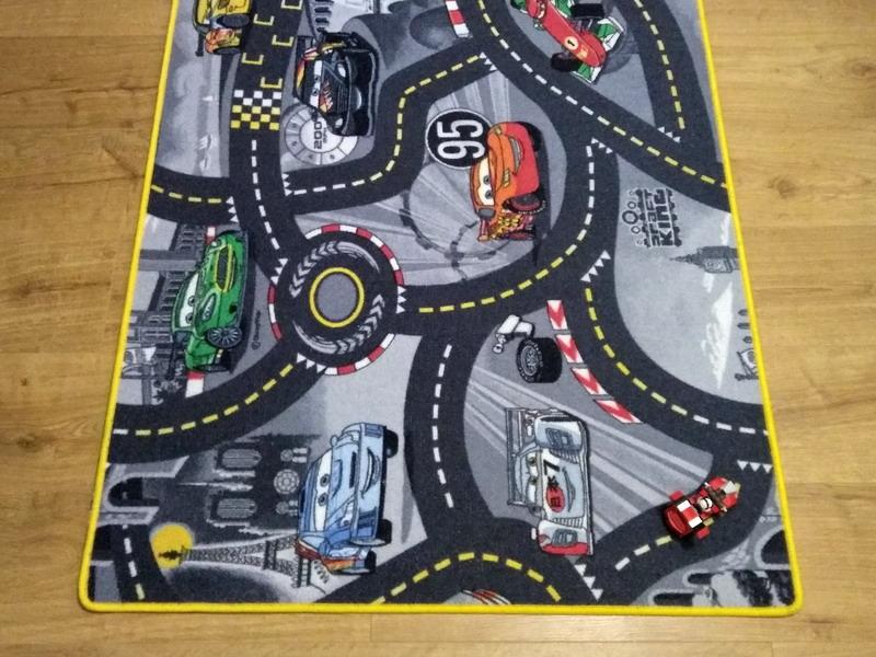 tappeto gioco cars