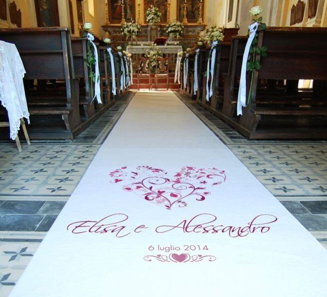 passatoia matrimonio chiesa