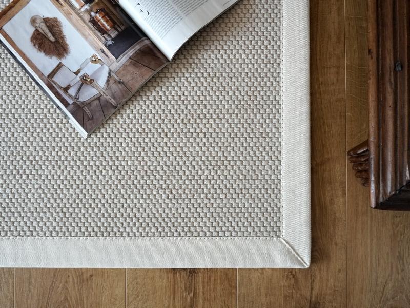 tappeto in lana naturale
