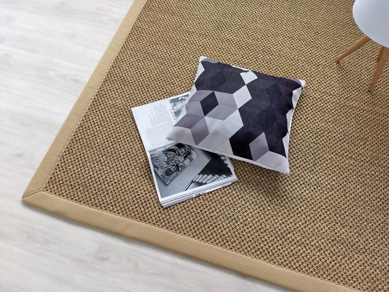 tappeto in cocco e sisal