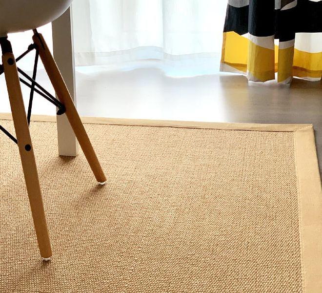tappeto in fibra naturale sisal