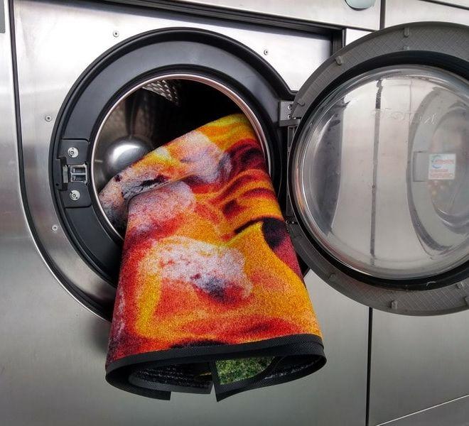 tappeto lavabile in lavatrice